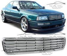 Front Chrom Grill für Audi 80 B4 8C 91-96 Sport Look Spoiler Body Kit NEU