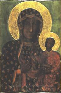 Original Black Madonna – Our Lady of Czestochowa  – 8.5x11 print