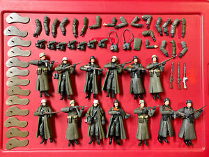 21st Century Ultimate Soldier 1:18 Lot of 13 German WWII Figures + Accessories