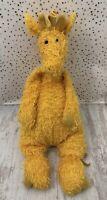 Jellycat London Yellow Floppy Giraffe Plush Soft Toy