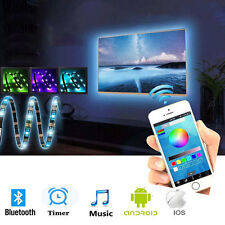3Ft TV Back Lighting RGB LED Strip Mini USB Control + IOS Android APP Remote
