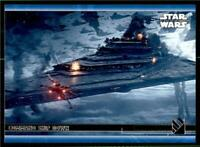 2020 Topps Rise of Skywalker Series 2 Blue #94 Command Ship Down