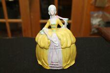 Vintage German Dresser Doll Yellow Dress Unmarked Excellent Condition
