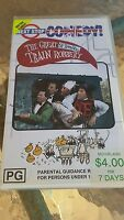 THE GREAT ST TRINIAN'S TRAIN ROBBERY  - FRANKIE HOWERD, DORA BRYAN -  VIDEO  VHS