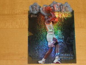 1997-98 Topps Rock Stars Gold Refractor Die-Cut #RS1 Michael Jordan