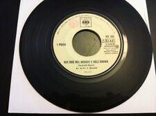 POOH promo jb NOI DUE NEL MONDO E NELL'ANIMA juke box 1972 EX