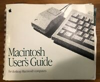 1991 Macintosh Desktop Computer User's Guide