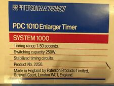 Paterson Electronics - Pdc 1010 - Enlarger Darkroom Electronic Timer