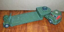 VINTAGE CORGI MAJOR BEDFORD TRACTOR UNIT / CARRIMORE MACHINERY CARRIER MILITARY