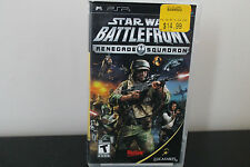 Star Wars: Battlefront -- Renegade Squadron (Sony PSP, 2007) *Tested / Complete