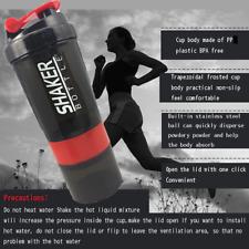 Creative Protein Powder Shaker Bottle Sports Fitness Mixing Blender Bottle Sport