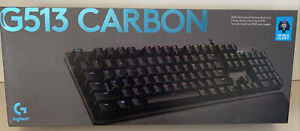 Logitech G513 GX Blue Carbon Wired Gaming Mechanical Keyboard with RGB Backlight