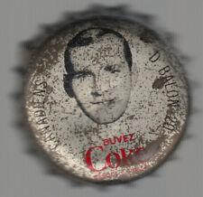 1964 65 HOCKEY COCA-COLA COKE BOTTLE CAP WITH CORK Dave Balon MONTREAL CANADIENS