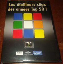TRES RARE DVD PROMO MEILLEURS CLIP TOP 50 JOHNNY HALLYDAY +DIVERS NEUF SCELLE