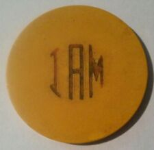 1930's I AM THE BARKER VARIETY CLUB DALLAS, TEXAS .25 CENT GAMING CHIP 1930's!