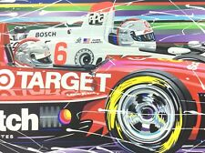 Randy Owens PASSING THE TORCH Limited Serigraph Andretti Signed Indy 500 Racing