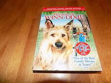 BECAUSE OF WINN-DIXIE DVD Best Selling Book Widescreen Full DVD BOOK SET NEW