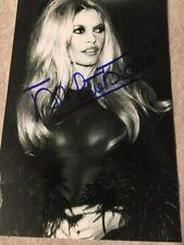 Brigitte Bardot Signed 4X6 photo Film  Actress French  AUTO