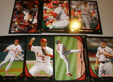 2011 CARDINALS 35 Card Lot w/ BOWMAN Team Set ALL 25 WORLD SERIES PLAYERS in Lot
