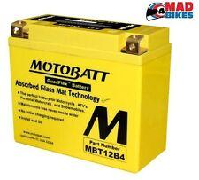 YAMAHA YZF R6 1998 GRAN AUMENTO DE POTENCIA Batería, MOTOBATT MBT12B4 20% extra