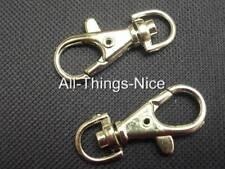 SWIVEL 40mm CLIP CLASP HOOK Art Craft Belt Lead Bag Charm Jewellery Making 25