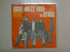 "BYRDS:Eight Miles High 3:35-Why? 2:58-Germany 7"" 1966 CBS 2067 PSL"