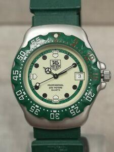 TAG Heuer Formula 1 Green/Steel Full Lume Quartz Wristwatch WA1212