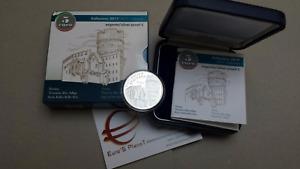 5 euro Ag Italia 2017 Proof BE PP Fs Trento Trentino Adige Italie Italy Italien