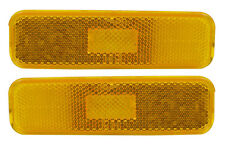NEW Trim Parts Front Side Marker Lamp PAIR / FOR 1974-77 CHEVY CAMARO / A6740