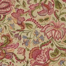 375102 - Sundari Flowers Foliage Red Purple Orange Green Eijffinger Wallpaper