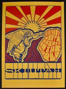 "Ski Utah 1967 Travel Poster By B. Jones - Censored And Never Used 22"" X 15 1/2"""