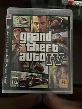 Grand Theft Auto IV PS3 GTA 4 Complete w/ Manual Map Sony PlayStation 3