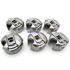 6 PCS. INDUSTRIAL SEWING MACHINE BOBBIN CASE FIT FOR JUKI CONSEW SINGER BROTHER