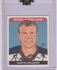 AWESOME 2007 SPORT KINGS MARTIN BRODEUR HOCKEY MINI CARD #5 ~ MONTREAL CANADIENS