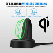 for Samsung Qi Wireless Watch Charging Dock Charger Cradle Gear S2 S3 Smartwatch