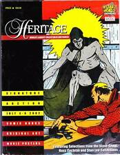 HERITAGE COMICS AUCTION CATALOG July 2002 - Frazetta Tarzan, Graham Ingels