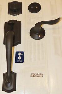 Schlage F93 CAM 613 ACC Dummy Handleset Accent Lever Oil Rubbed Bronze- Test