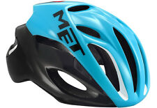 Met Casque Course Rivale HES Taille M 54/58 Cyan/noir