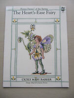 Flower Fairies of The Spring Large Cross Stitch Chart The Heart's Ease Fairy 652