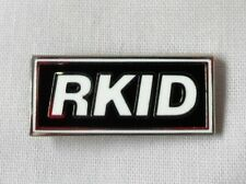 Liam Gallagher RKID enamel badge.Noel Gallagher,Mod,B​eady Eye,Oasis, Tickets.