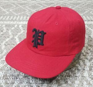 Rare ! Vintage Polo Ralph Lauren Retro P Club Logo Hat Vtg 90s Strapback DS Cap