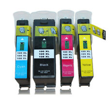 4PK Ink Cartridges Compatible For Lexmark 100xl 105xl 108xl S301 S302 S305 S405
