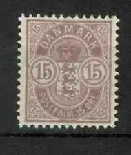 Denmark - 1901 -1902 Coat of Arms (54, 15Ore) - Mint Hinged, 358