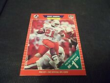 1989 Proset Football #494 Barry Sanders Rookie Oklahoma State Detroit Lions nrmt