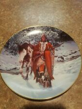 "Winter of '41 8"" Plate by The Hamilton Collection, Last of the Warriors*"