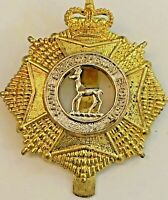 South Saskatchewan Regiment Cap Badge with Queen's Crown