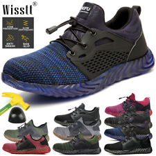 Men's Women's Safety Light Work Shoes Steel Toe Boots Indestructible Sneakers AU