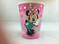 16x Disney Minnie Mouse Girls' Party Paper Cups Disposable Tableware Supply