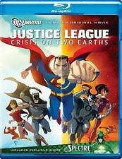 Justice League: Crisis on Two Earths (Blu-ray Disc, 2010) Animated Movie DC