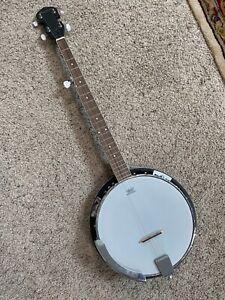 Davison 5-String Resonator Banjo w/Remo Weatherking Head